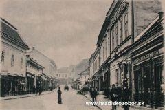 Nitra do roku 1945 - Kupecká ul